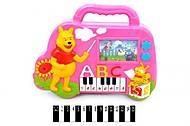 Игрушечное пианино «Зверята», 6638F, купить