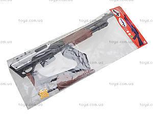 Игрушечное ружье на пульках для детей, 515-09B2, купить