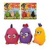 Игрушечные герои Angry Birds, 3 штуки, 89702
