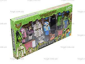 Игрушечные герои Minecraft, 7 штук, 14143, купить