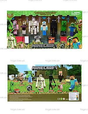 Игрушечные герои Minecraft, 7 штук, 14143