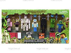 Игрушечные герои Minecraft, 7 штук, 14143, отзывы