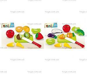 Игрушечные овощи и фрукты, делятся пополам, 666-1719