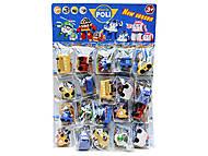 Игрушечные персонажи «Робокар Поли», 20 штук, РО16505, фото