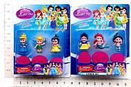 Игрушечные принцессы в наборе для девочки, 03362, фото