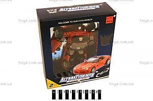 Игрушечный « Робот - трансформер (превращается в машину) », 5501D