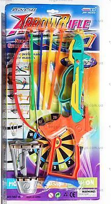 Игрушечный «Арбалет», лук и стрелы, 384A