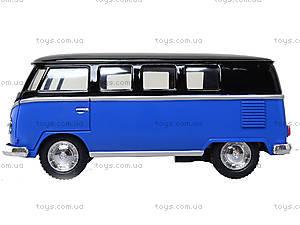 Игрушечный автобус Volkswagen Classical Bus Black Top, KT5376W, детский
