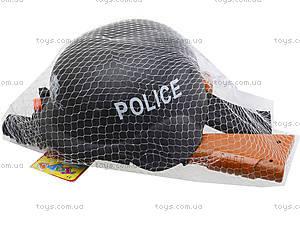 Игрушечный автомат с каской Police, 566A, цена