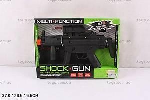 Игрушечный автомат, со световыми и звуковыми эффектами, MP5-5