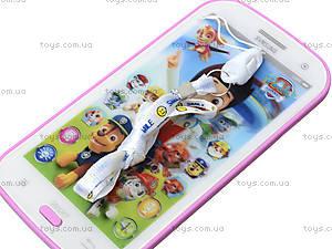 Игрушечный айфон «Щенячий патруль», JD-0883F2, фото