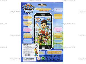 Игрушечный айфон «Щенячий патруль», JD-0883F2, игрушки