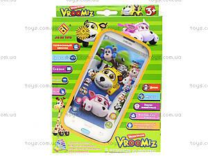 Игрушечный айфон «Врумиз», JD-0883PL2, детские игрушки