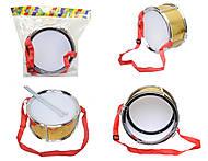 Игрушечный барабан, детский, 2122