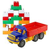 Игрушечный бортовой грузовик с набором конструктора, 1708, купить