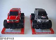 Игрушечный джип с большими колесами, 10883, отзывы
