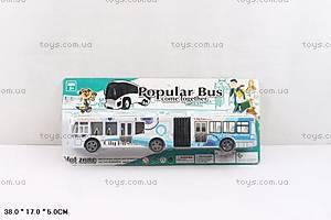 Игрушечный двухсекционный автобус, JY678-1A