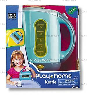 Игрушечный электрический чайник, K21660
