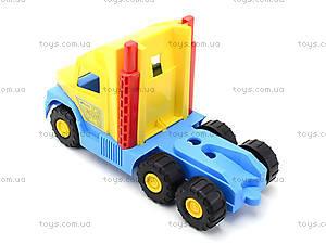 Игрушечный эвакуатор с трактором, 36520, фото