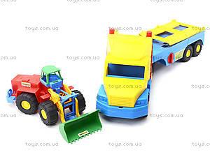 Игрушечный эвакуатор с трактором, 36520, отзывы