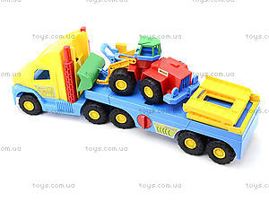 Игрушечный эвакуатор с трактором, 36520, цена