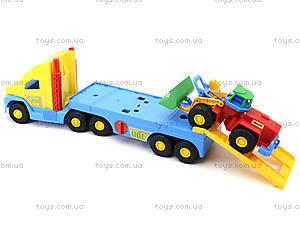 Игрушечный эвакуатор с трактором, 36520, магазин игрушек