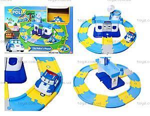 Игрушечный гараж для машин «Робокар Поли», XZ-150
