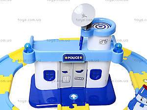 Игрушечный гараж для машин «Робокар Поли», XZ-150, детские игрушки