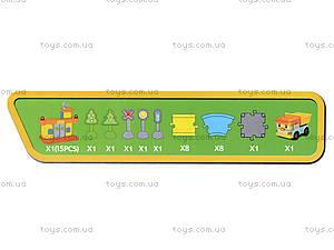 Игрушечный гараж «Робокар Поли», зеленый, XZ-153, цена