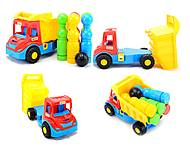 Игрушечный грузовик Multi truck с кеглями, 32220