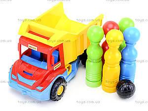 Игрушечный грузовик Multi truck с кеглями, 32220, отзывы