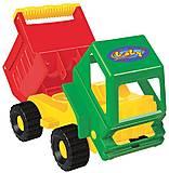 Игрушечный грузовик «Самосвал», 0637, фото