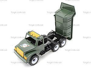 Игрушечный грузовик «Военный», 184А, игрушки