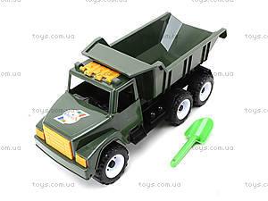 Игрушечный грузовик «Военный», 184А, іграшки