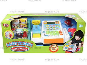 Игрушечный кассовый аппарат «Магазин», 7340, фото