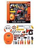 Игрушечный комплект инструментов, 20962097, фото