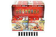 Игрушечный конструктор «Ninja», разные, 119#1-6