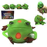 Игрушечный лизун «Лягушка», большая, PR763, отзывы