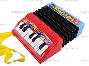 Игрушечный маленький аккордеон, WX2111A, детские игрушки