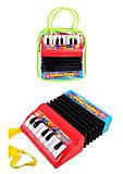 Игрушечный маленький аккордеон, WX2111A, toys