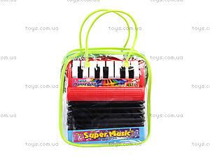 Игрушечный маленький аккордеон, WX2111A, магазин игрушек