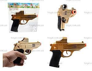 Игрушечный механический пистолет, WX002