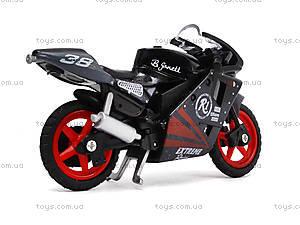 Игрушечный мотоцикл, металлический, XY028, іграшки