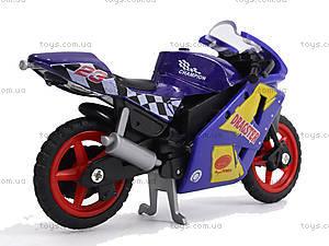 Игрушечный мотоцикл, металлический, XY028, купити