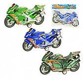 Игрушечный мотоцикл, инерционный механизм, 665859, фото