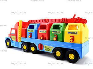 Игрушечный мусоровоз Super Truck, 36530, купить