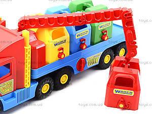 Игрушечный мусоровоз Super Truck, 36530, фото