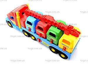 Игрушечный мусоровоз Super Truck, 36530, отзывы
