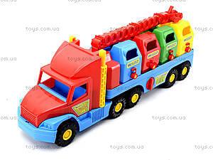 Игрушечный мусоровоз Super Truck, 36530, цена