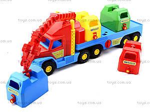 Игрушечный мусоровоз Super Truck, 36530, игрушки